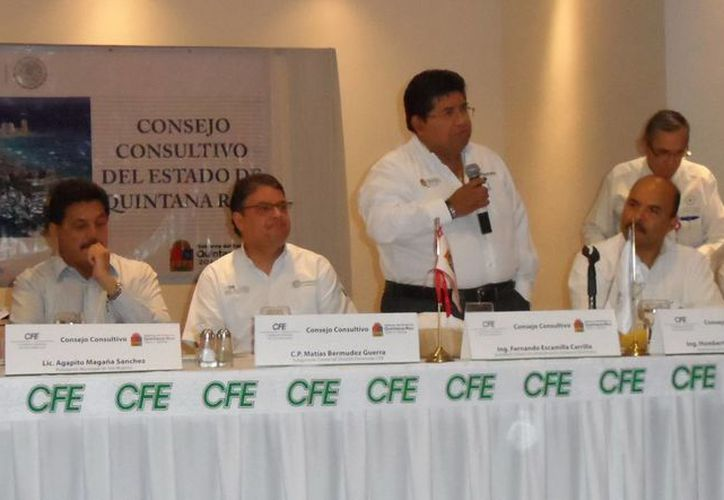 En la reunión se habló sobre el impacto de los costos energéticos en los distintos sectores. (Redacción/SIPSE)