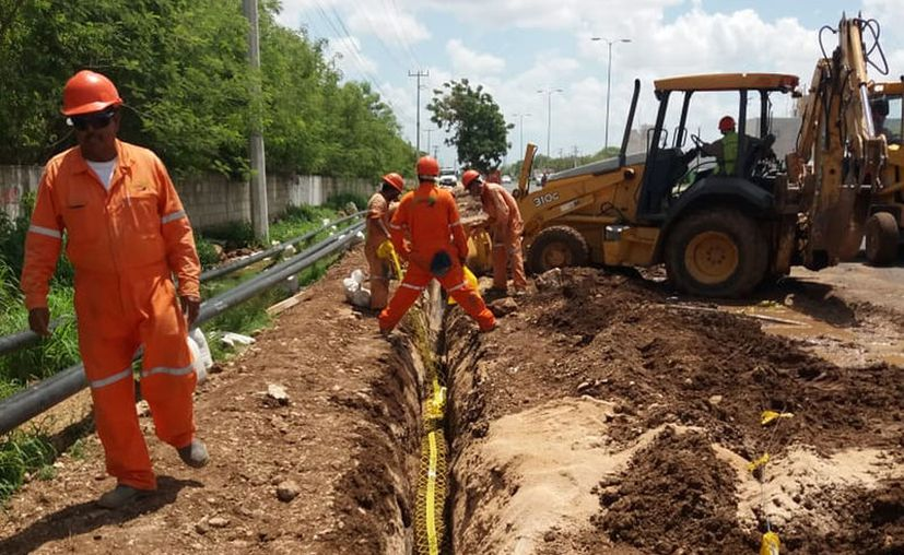 Se espera que con el gasoducto mejore el suministro del energético. (Jorge Acosta/Novedades Yucatán)