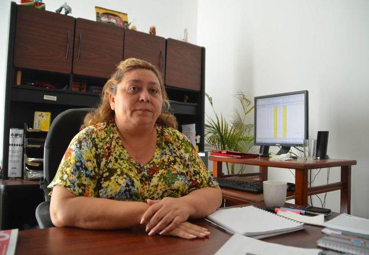 """Marianela García Sandoval dijo que la participación de los ciudadanos es """"buena"""". (Yenny Gaona/SIPSE)"""
