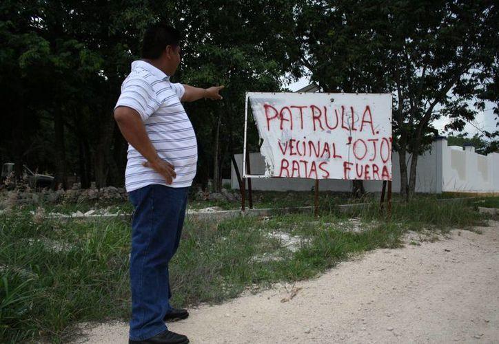 Integrantes de 17 familias de la colonia Ejidal Sur se organizaron para poner un freno a la delincuencia. (Octavio Martínez/SIPSE)