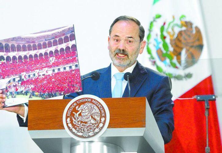 El dirigente nacional del PAN, denunció con imágenes, la injerencia del gobierno de Coahuila en las elecciones estatales. (Milenio)