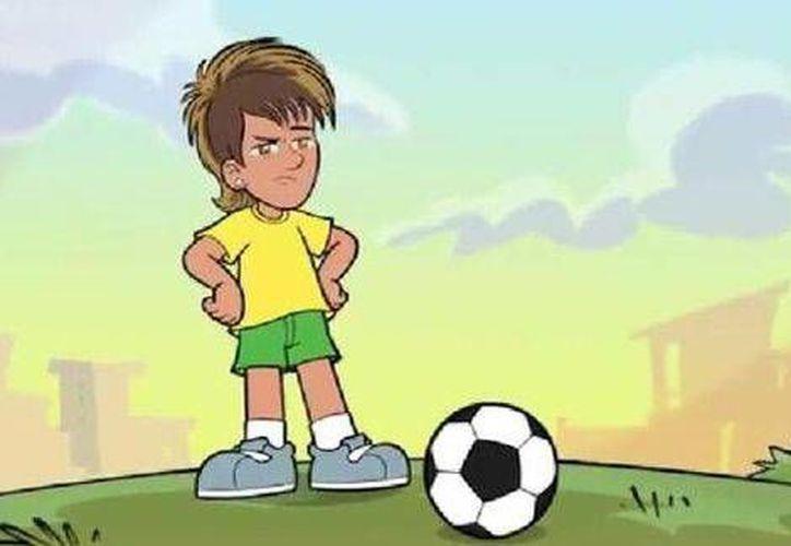 El astro brasileño es uno de los jugadores favoritos del público infantil. (La afición)