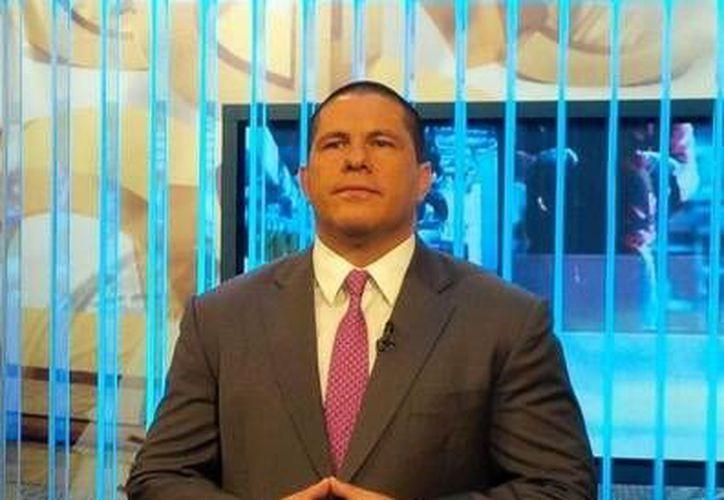 Eduardo Alejandro Holguín Baeza, El Chupas, presunto asesino de los hijos del periodista David Páramo (foto) fue arrestado en Ojinaga, Chihuahua. (Foto tomada del twitter de David Páramo)