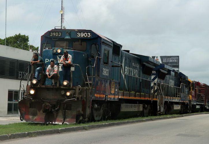 Se ampliará la conexión del transporte ferroviario de carga para atender a las industrias que operan en la entidad.  (Foto: Milenio novedades)