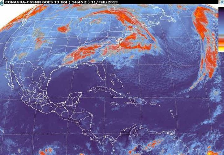Soplarán vientos del este y sureste de 20 a 40 km/h con rachas de 55 km/h. (smn.cna.gob.mx)