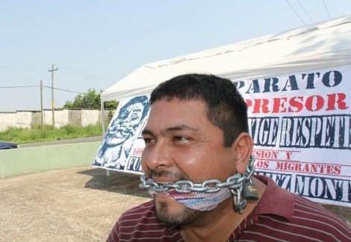 """José Ramón Verdugo, coordinador de """"Todo por Ellos"""", dijo que los federales nunca exhibieron alguna orden de cateo o aprehensión. (Milenio)"""