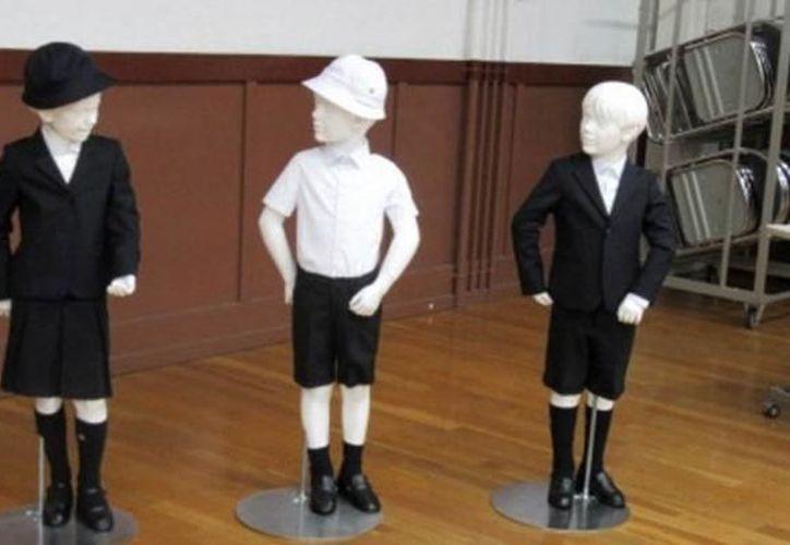 El costo de los uniformes para los alumnos de la escuela pública Taimei es de 730 dólares. (Foto: Tiempo)