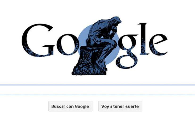 Google conmemora 172 años del nacimiento del escultor francés, Auguste Rodin. (SIPSE.com)