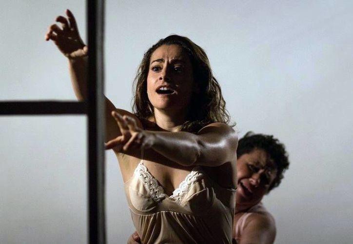 Artistas de tres países participan en el reparto de 'La prisionera', la cual se presentará en a videosala del Centro Cultural Olimpo. (Milenio Novedades)