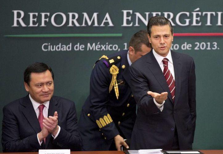 El sector energético será uno de los motores de la economía nacional, aseguró Peña Nieto. (Agencias)