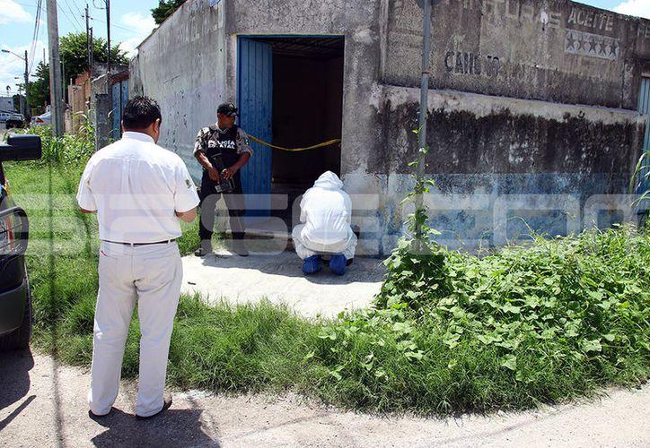 La policía de investigación descartó un hecho delictivo. (Jorge Pallota/SIPSE)