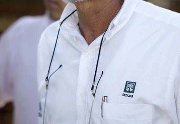 El secretario de Desarrollo Urbano y Medio Ambiente Eduardo Batllori Sampredro.  (Milenio Novedades)