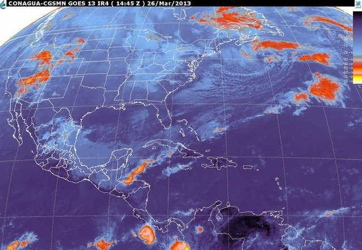 Soplarán vientos del norte y noreste de 30 a 50 km/h con rachas y oleaje ligeramente alto. (smn.cna.gob.mx)