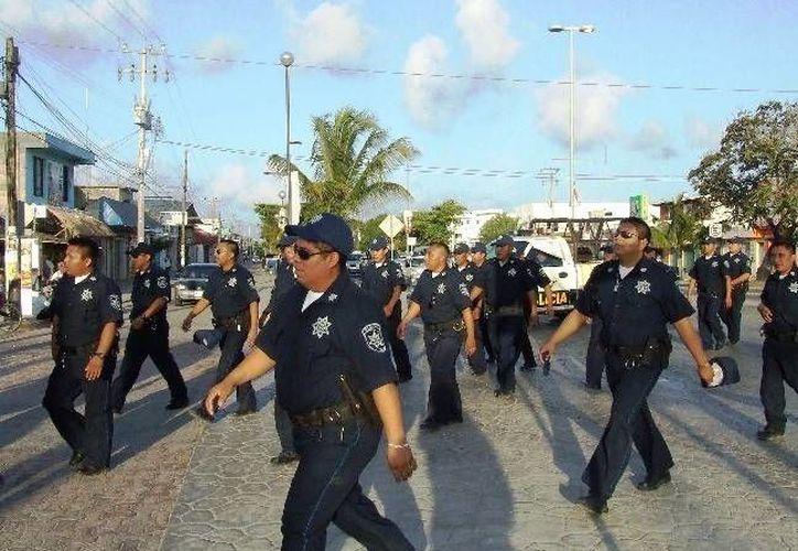 Autoridades preparan el plan para garantizar la seguridad de los visitantes durante la temporada de verano.  (Rossy López/SIPSE)
