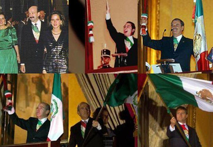 Desde 2010 la banda presidencial tuvo que ser modificada por un cambio en la ley para que tuviera el mismo orden en sus colores que la bandera. (Archivo/Agencias)