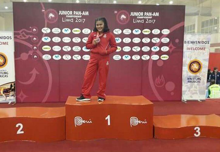 La atleta es la primera en conseguir 10 campeonatos nacionales. (Miguel Maldonado/SIPSE)