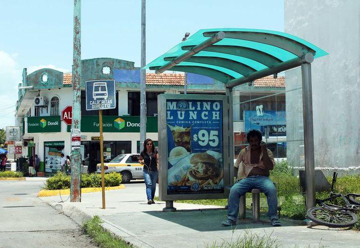 Los usuarios no verán camiones urbanos durante un buen tiempo en Chetumal. (Joel Zamora/SIPSE)