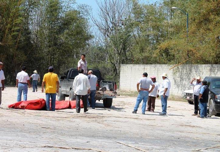 Un total de 50 productores montaron la guardia de manera permanente. (Edgardo Rodríguez/SIPSE)