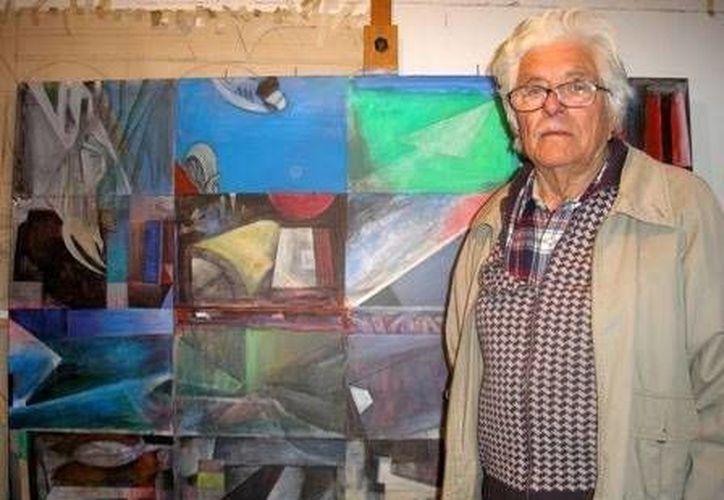 El muralista Fernando Marcos conoció en 1940 a Siqueiros y al también mexicano Xavier Guerrero. (Excélsior)