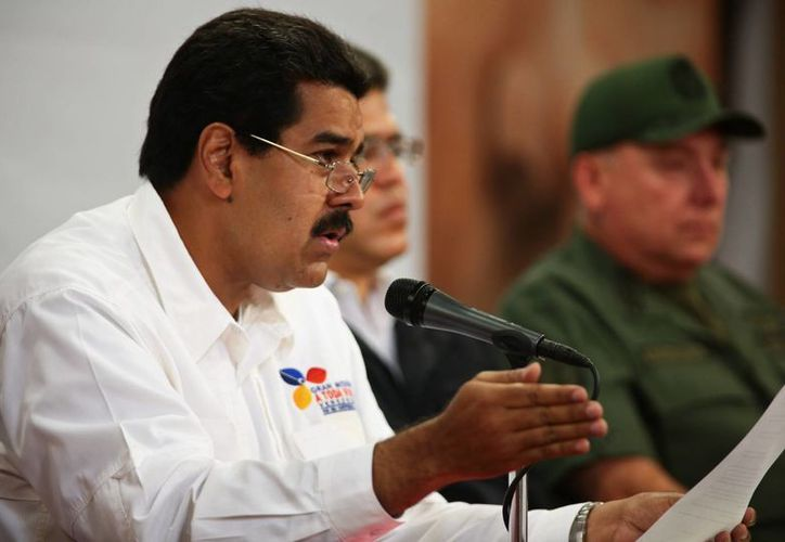 Nicolás Maduro fue 'designado' por Chávez como su posible sucesor. (Agencias)