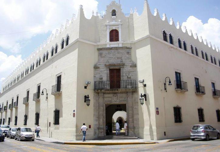 El edificio central de la Uady. (Milenio Novedades)