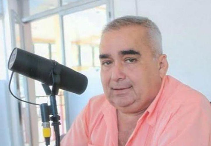 """Jesús Eugenio Ramos Rodríguez era conductor del noticiero """"Nuestra Región"""", de Tabasco. (Internet)"""