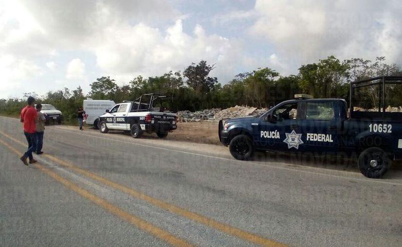 Los hechos se registraron aproximadamente a un kilómetro de la carretera GasAuto. (Eric Galindo)