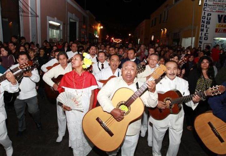Mañana, un centenar de trovadores participarán en la callejoneada. (Milenio Novedades)