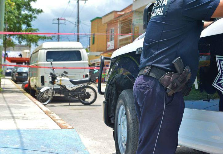 El ataque se registró el fin de semana pasado en la colonia San Miguel. (Gustavo Villegas/SIPSE)