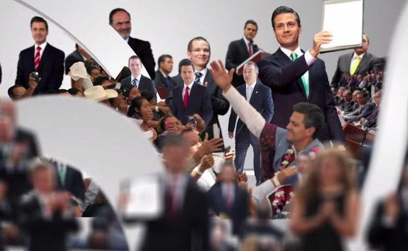 La publicidad del Segundo Informe de Gobierno de Peña Nieto comenzó a circular desde el lunes pasado. (Captura de pantalla/YouTube)