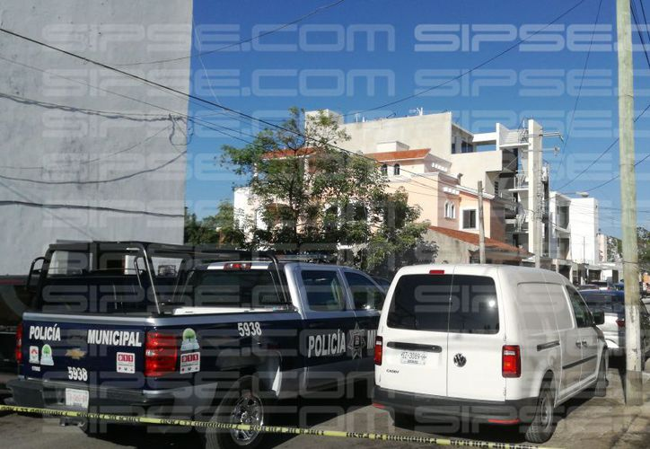 Las autoridades municipales arribaron a la zona para realizar las investigaciones correspondientes. (Luis Hernández/ SIPSE)