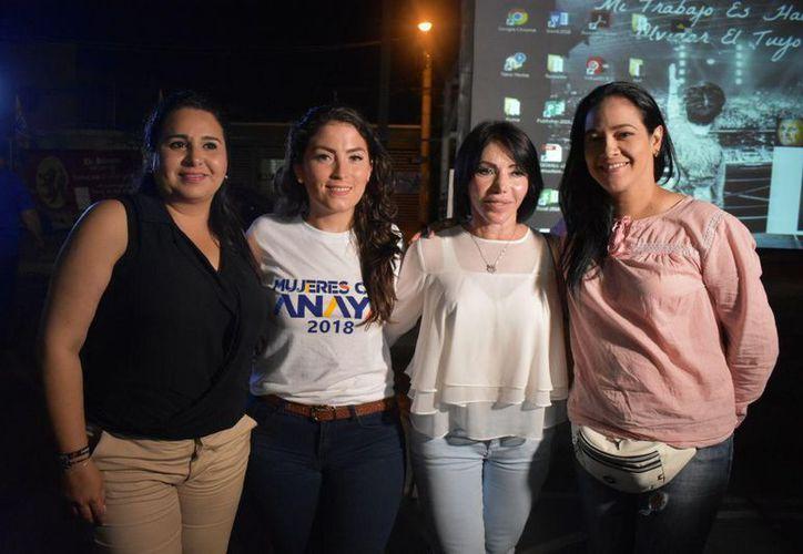 Gaby Pallares afirmó que todos los candidatos del PRD-PAN y Movimiento Ciudadano tienen propuestas de beneficio real para la población. (Redacción/SIPSE)