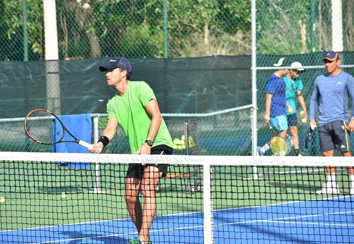 El evento deportivo se realizará en las instalaciones de Cancún Tennis Academy. (Raúl Caballero/SIPSE)
