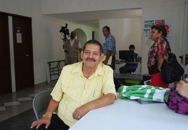 Armando Ventre Manjarrez, candidato del PRD para la alcaldía de Tulum. (Tomás Álvarez/SIPSE)