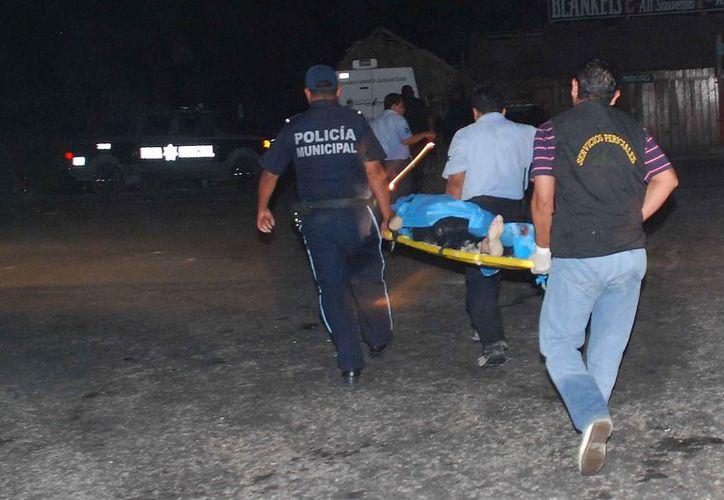 Una persona muerta fue el resultado de un accidente de tránsito en la carretera transversal de Cozumel. (Contexto)
