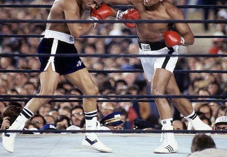 Norton ganó a Alí una de tres peleas, pero las tres fueron muy diputadas. (.bestboxingblog.com)