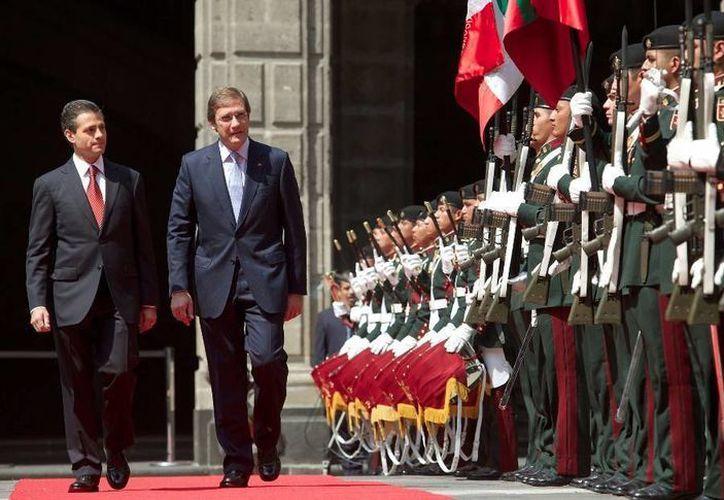 Son siete los convenios firmados por Enrique Peña Nieto y Pedro Pasos en México. (presidencia.gob.mx)
