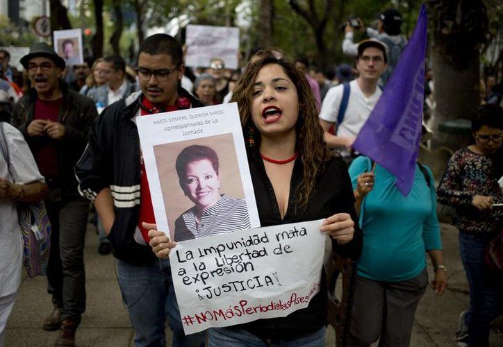 Miroslava Breach fue asesinada cuando salía de su casa, en Chihuahua. (Foto: Vanguardia.mx)