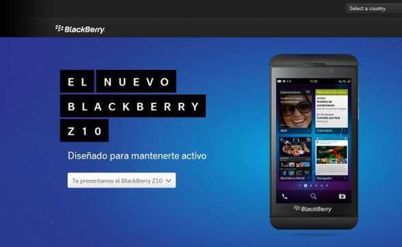 En su primer trimestre fiscal, el precio de las acciones de Blackberry se derrumbaron un 28%. (blackberry.com)