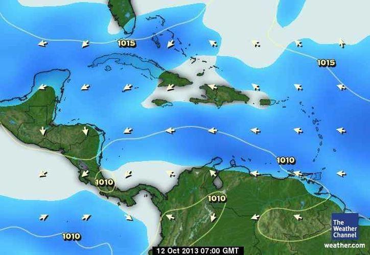 Las probabilidades de lluvias son del 20 por ciento. (Cortesía/SIPSE)