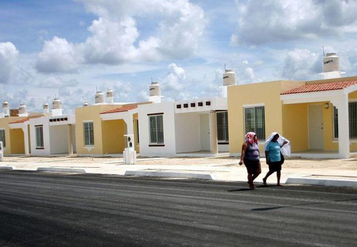 Los subsidios de la bolsa nacional para viviendas económicas quedaron agotados antes del mes de junio. (SIPSE)