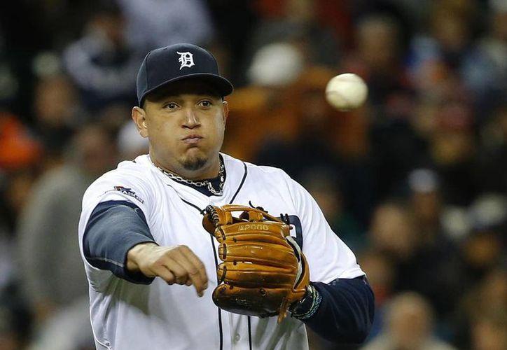 En los últimos dos meses Miguel Cabrera estuvo aquejado por numerosas lesiones. (Agencias)