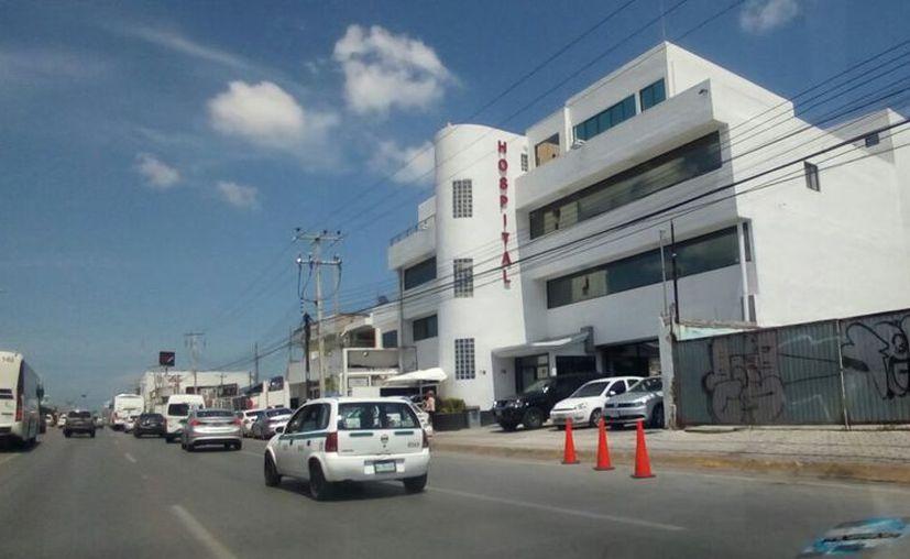La mujer llegó a solicitar que fuera atendida en la clínica Quirúrgica del Sur por una lesión que tenía en el tórax. (Eric Galindo/SIPSE)