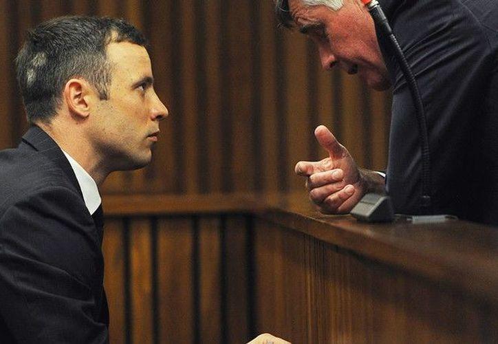 La sentencia original de  Oscar Pistorius pronunciada en 2014 era de cinco años de prisión. (Foto: Getty)