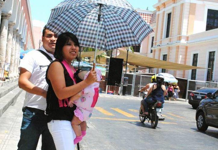Para este martes se pronostica calor en Yucatán pero para el miércoles se anticipan chubascos vespertinos, especialmente sobre las porciones noreste, oriente y centro del estado. (Foto de archivo de SIPSE)