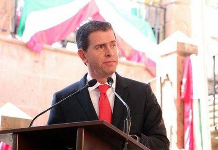 Alfredo Castillo, representante del gobierno federal, explicó que Michoacán atraviesa por un proceso de renovación en sus elementos de seguridad. (Quadratín)