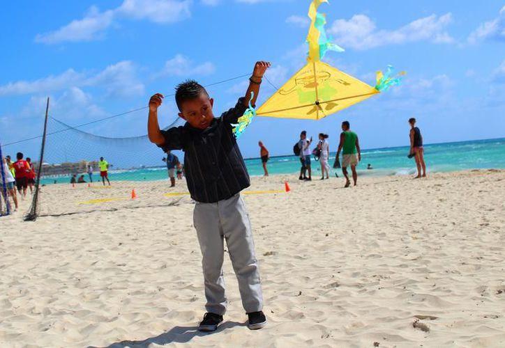 El próximo sábado 24 y domingo 25 de febrero se celebrará la décima edición del Festival de Papalotes Isla Blanca. (SIPSE)