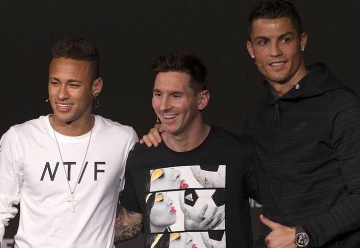 Los tres son finalistas al premio 'The Best' de la FIFA a mejor futbolista del año. (Contexto)