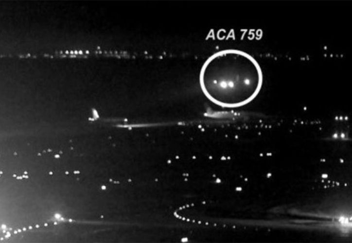 De concretarse, hubiese provocado uno de los peores desastres aéreos en Canadá. (Foto: Captura del video)