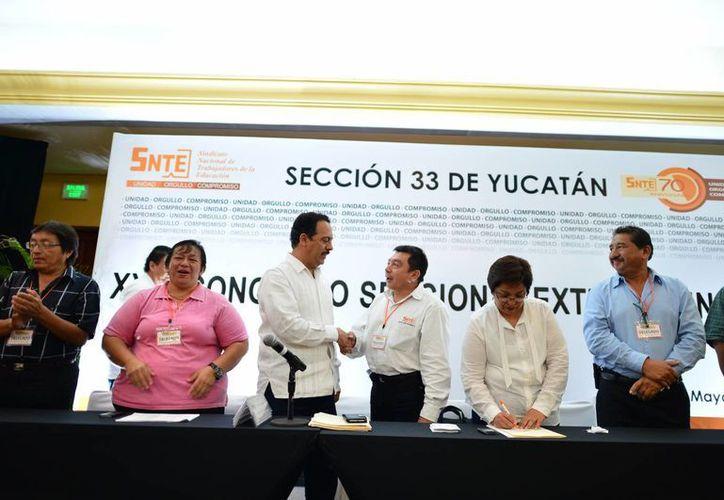 La Sección 33 realizó su elección con una gran participación. (Luis Pérez/SIPSE)